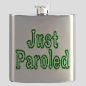 Just Paroled Flask