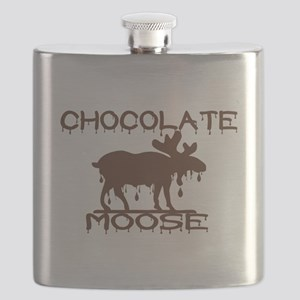 Chocolate Moose Flask