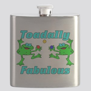 Toadally Fabulous Flask