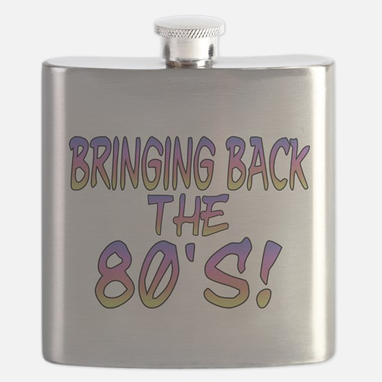 Return Of The 80's Flask
