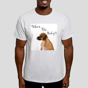 Who's da Baby? Ash Grey T-Shirt