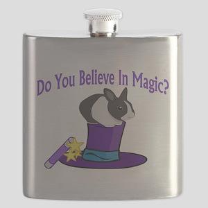 Believe In Magic Flask