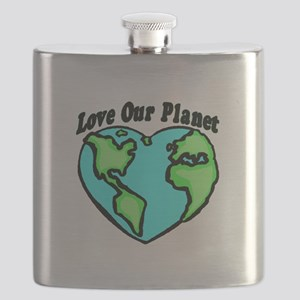 Love Our Planet Flask