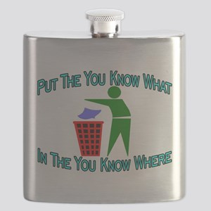 You Know Where Flask