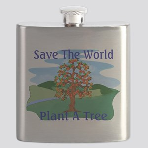 Plant A Tree Flask