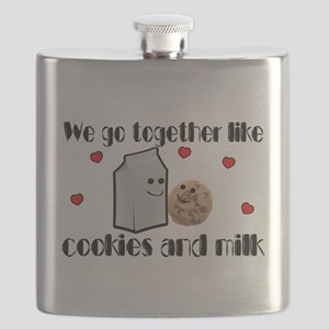 Cookies And Milk Flask