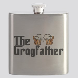 The Grogfather Flask
