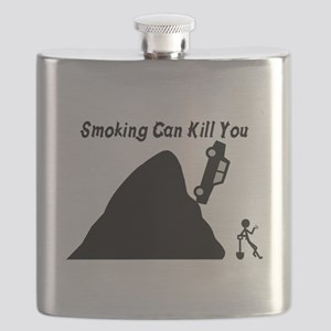 Smoking Can Kill You Flask