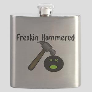 Freakin Hammered Flask
