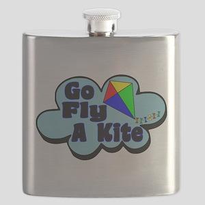 Go Fly A Kite Flask