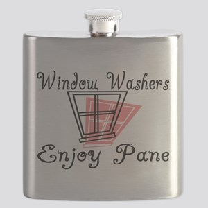Window Washer Pane Flask