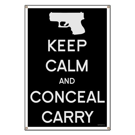 Keep Calm and Conceal Carry Banner