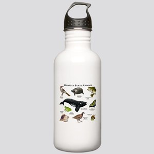 Georgia State Animals Stainless Water Bottle 1.0L