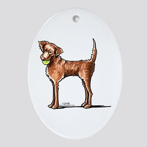Lets Play Chessie Ornament (Oval)