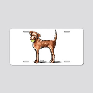 Lets Play Chessie Aluminum License Plate