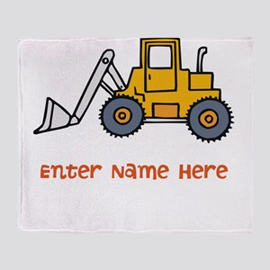 Personalized Loader Throw Blanket