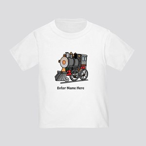 Personalized Train Engine Toddler T-Shirt