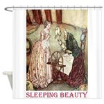 Sleeping Beauty Shower Curtain