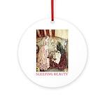 Sleeping Beauty Ornament (Round)