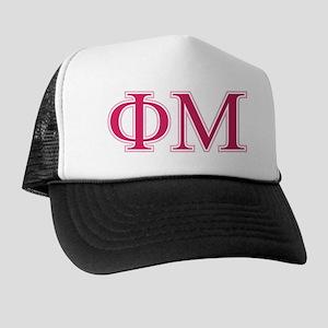 Phi Mu Letters Trucker Hat