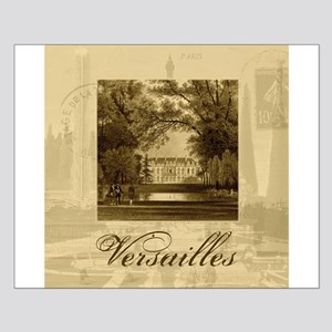 Vintage Chateau de Versailles Small Poster