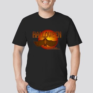 sleepyhalloweenbat Men's Fitted T-Shirt (dark)