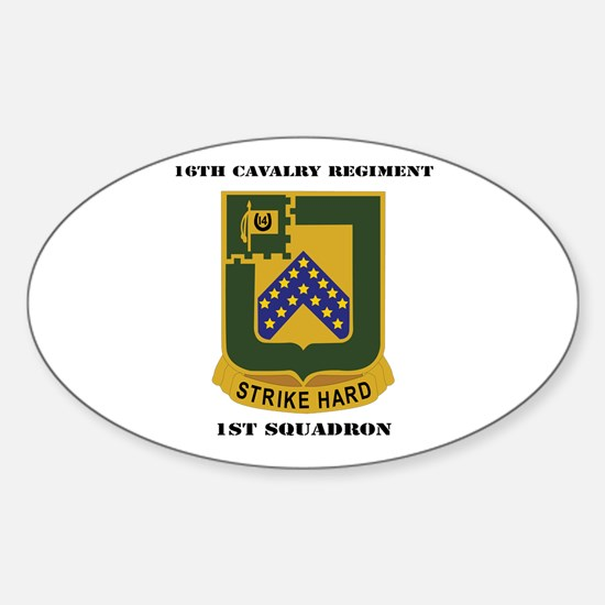 DUI - 1st Squadron - 16th Cavalry Regiment with Te