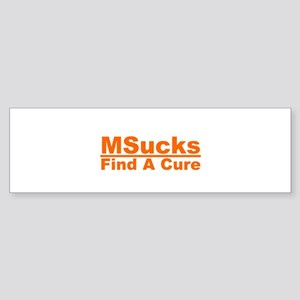 MSucks Sticker (Bumper)