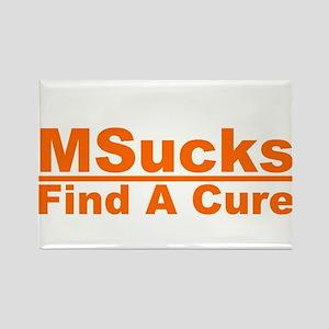 MSucks Rectangle Magnet