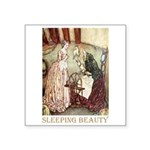 Sleeping Beauty Square Sticker 3