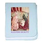 Sleeping Beauty baby blanket