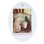 Sleeping Beauty Ornament (Oval)
