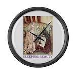 Sleeping Beauty Large Wall Clock