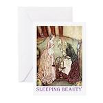 Sleeping Beauty Greeting Cards (Pk of 20)