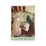 Sleeping Beauty Rectangle Magnet (100 pack)