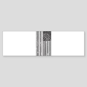 Barcode Flag Sticker (Bumper)