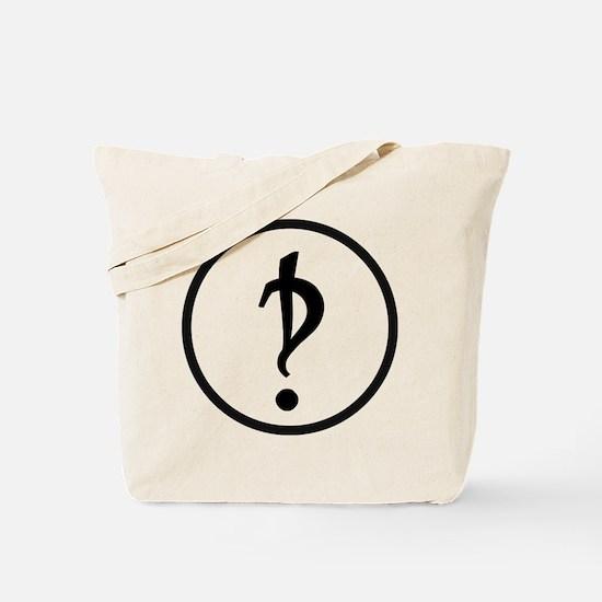 Interrobang Logo Tote Bag