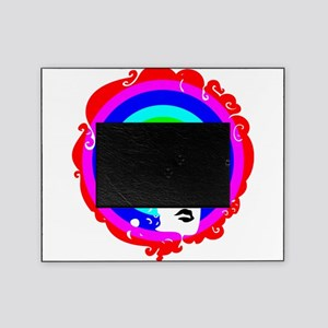 Rainbow Afro Picture Frame