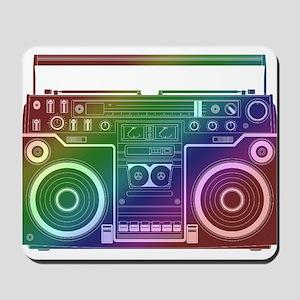 Rainbow Stereo Mousepad