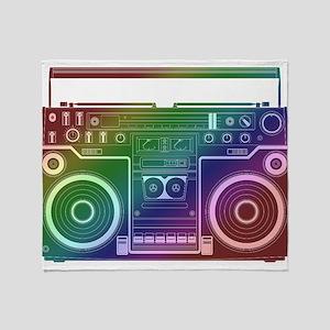 Rainbow Stereo Throw Blanket