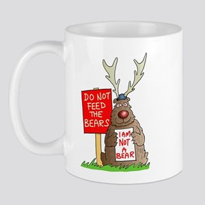 Don't Feed the Bears Mug