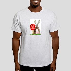Don't Feed the Bears Ash Grey T-Shirt
