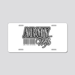 Army Wife, ACU Aluminum License Plate