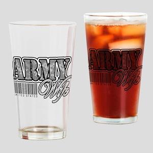 Army Wife, ACU Drinking Glass