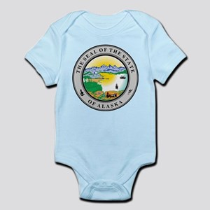 Alaska State Seal Infant Bodysuit