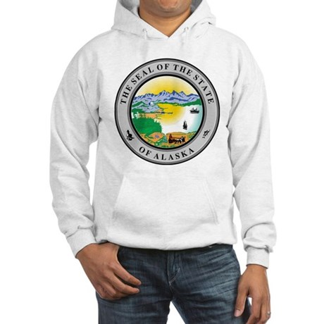 Alaska State Seal Hooded Sweatshirt