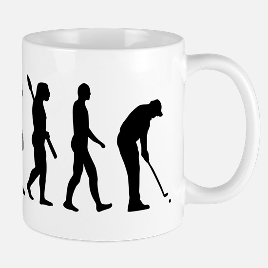 Golf evolution Mug