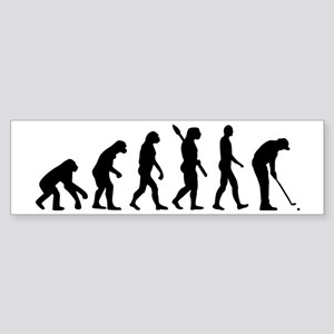 Golf evolution Sticker (Bumper)
