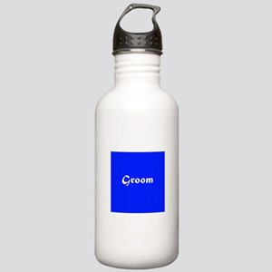 Blue Groom Wedding Stainless Water Bottle 1.0L