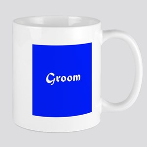 Blue Groom Wedding Mug